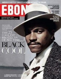 Billy Dee Williams on the cover of Ebony magazine Jet Magazine, Black Magazine, Life Magazine, Black Actors, Black Celebrities, Celebs, Ebony Magazine Cover, Magazine Covers, Billy Dee Williams
