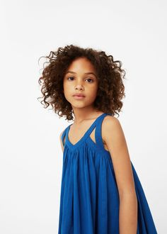 Discover the latest trends in Mango fashion, footwear and accessories. Kids Outfits Girls, Toddler Girl Outfits, Girls Dresses, Tween Fashion, Baby Girl Fashion, Discount Womens Clothing, Kids Wardrobe, Mango Fashion, Cute Little Girls