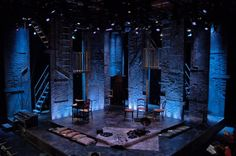 The Glass Menagerie. Scenic design by James Kronzer.