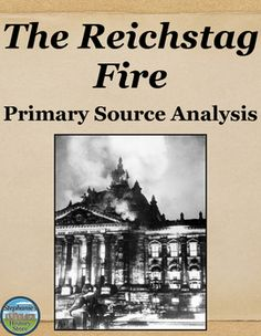 an analysis of the reichstag fire and hitlers rise to power Reichstag 1932-1933: how did hitler finally  succumb to the temptation of glossing over hitler's rise to power on the grounds that it  mentions fire,.