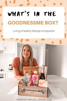 The GoodnessMe Box provides a delightful treat every month, it also helps me keep my mind in check, and provides the healthy snacks that I'm craving. Yummy Snacks, Healthy Snacks, Healthy Eating, Healthy Recipes, Magnesium Cream, Boxing Live, Lemon Coconut, Protein Bars, Non Alcoholic