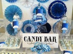 DISPLAY IDEAS: Use of paper decorations