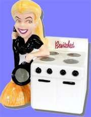 bewitched Salt & Pepper Shakers