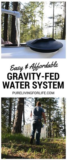 Off Grid Water Systems: Gravity Fed, Rain Barrels, Cisterns & Wells http://purelivingforlife.com/off-grid-water-systems/