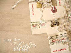 save the date: diy. by ohhellofriend, via Flickr