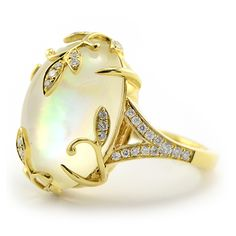 You can't go wrong with a classic cocktail ring, popularized in the 1940s and 1950s, for that special event!