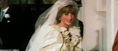 When she stepped out in this dress on the wedding day that was watched by hundreds of millions of people!