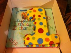 1st birthday Mr Tumble / squiglet cake!