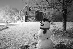 I have always wanted to build a snowman, but I never did because we never had enough snow!