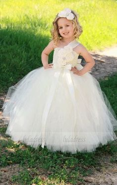 7def71b826d3 Flower Girl Dress - Lace Dress - Girls Lace Dress - Big Bow Dress ...