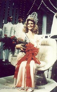 Irene Saez se Convierte en Miss Universe 1981 en la Ciudad de Nueva York...
