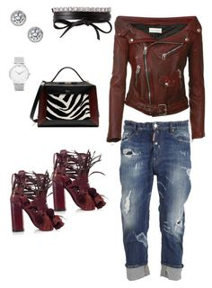 """""""Your Style Refined"""" by derricotterr on Polyvore featuring Faith Connexion, N°21, Dsquared2, Mulberry, Larsson & Jennings, Fantasia by DeSerio and Fallon"""