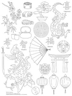 Japanese Embroidery, Crewel Embroidery, Embroidery Patterns, Embroidery Thread, Embroidery Tattoo, Japanese Tattoo Art, Japanese Art, Handpoke Tattoo, Art Asiatique