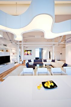 Living Room: Loft Apartment in Chisinau by Grosu Art Studio #decor