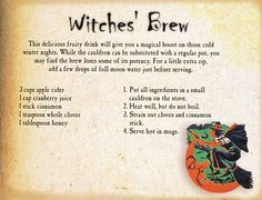 witches' brew - looks awesome!