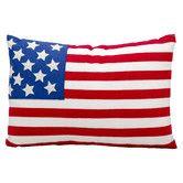 Found it at Wayfair - Lifestyle American Flag Cotton/Polyester Throw Pillow