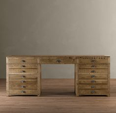 """""""printmaker"""" desk from Restoration Hardware. I would completely furnish my house from here if I could afford to."""