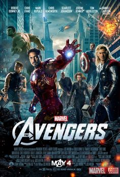 New One-Sheet for The Avengers