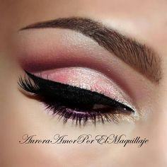 40's inspired  pink cat eye