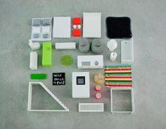 Boomini | White Multistory Dollhouse Furniture