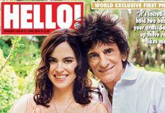 Rocker Ronnie Wood (69) showt pasgeboren tweeling - Beau Monde