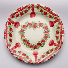 urte Plates, Tableware, Red, Tablewares, Licence Plates, Dishes, Dinnerware, Griddles, Dish