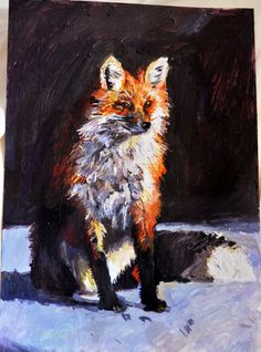 #fox #painting #original #fine #art #acrylic #animal