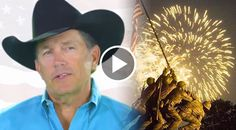 """In this promo video, George Strait supports the """"Wounded Warrior Project,"""" while also highlighting our nation's Veterans in trouble..."""