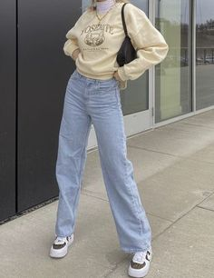Indie Outfits, Teen Fashion Outfits, Retro Outfits, Cute Casual Outfits, Simple Outfits, New Outfits, Mode Indie, Mode Hipster, Tomboy Fashion