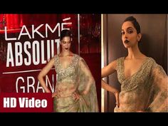 Deepika Padukone in transparent saree & sleeveless blouse at Lakme Fashion Week 2016. See the full video at : https://youtu.be/_Bj-u1O0lus #deepikapadukone #lakmefashionweek #bollywood #bollywoodnews #bollywoodnewsvilla