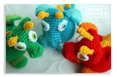 Ravelry: Bebe Dragon (Spanish) pattern by Kraft Croch Pattern