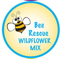 These 1/2 oz tins are filled with either our Bee Rescue Mix or our Honey Source Mix.