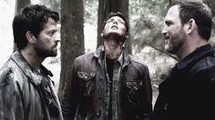 Castiel, Dean & Benny in the purgatory - supernatural screencap