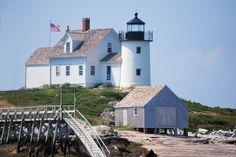 Lighthouse near Rockland, Maine