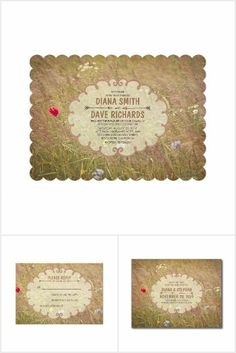 Vintage Meadow Wedding Collection