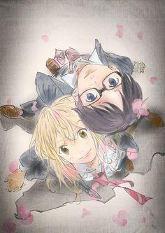 Kosei & Kaori - Shigatsu Wa Kimi No Uso - Your Lie in April