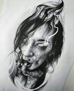 Resultado de imagem para wiking wzory tatuaży