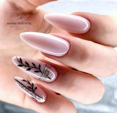 650 images about Beautiful Nails 💅🏻 on We Heart It Edgy Nails, Chic Nails, Stylish Nails, Dope Nails, Trendy Nails, Grunge Nails, Almond Acrylic Nails, Best Acrylic Nails, Classy Almond Nails
