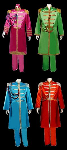 The Beatles Sgt Pepper costumes 429,00 € each. The ZomBeatles -- A Hard Day's Night of the Living Dead! Halloween Party Decorations & Ideas