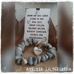 HOLZSCHILDER/HANDARBEIT - atelier-zaubersterns Website! Amazing Quotes, Silhouette Cameo, Diy And Crafts, Lettering, Motivation, Beautiful, Atelier, Prayer Room, Baby Sayings