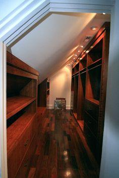 Potomac Bathroom/Walk-in Closet - traditional - closet - dc metro - Leveille Home Improvement Consultants, Inc.