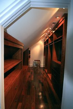 Potomac Bathroom/Walk-in Closet - traditional - closet - dc metro - Leveille Home Improvement Consultants, Inc.