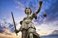 """""""When will there be justice in Athens? When will there be justice in the world? There will be justice in Athens & in the world, when those who are not injured are as outraged as those who are. Dame Justice, Chief Justice, Statues, Ukraine, Corporate Governance, Les Fables, Criminal Defense, Criminal Law, Personal Injury Lawyer"""