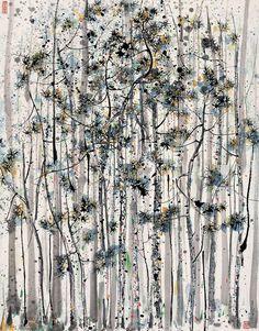 Wu Guanzhong – Pintura China Moderna   Pintura y Artistas