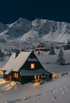 Mountain landscape photography nature winter Ideas - Photography, Landscape photography, Photography tips Winter Szenen, Winter Cabin, Winter Time, Winter Mountain, Cozy Cabin, Winter Travel, Winter Photography, Landscape Photography, Nature Photography