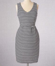 Look what I found on #zulily! Ivory Vintage Ponte Dress - Women #zulilyfinds