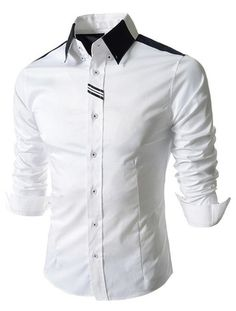 Cheap shirt mexico, Buy Quality shirt brazil directly from China shirt napping Suppliers: 2016 Summer Style Fashion Designer Camisa Social Shirt Slim Fit Long Sleeve Men's Dress Shirts Casual Brand Shirt New Fashion Shirts, Mens Fashion, Style Fashion, Mens Luxury Shirts, Mens Shirts Online, Men Shirts, Men Dress, Shirt Dress, Branded Shirts