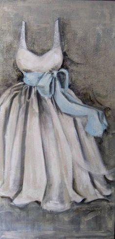 Blue Satin Sash by Andrea Stajan-Ferkul (Toronto based artist) Fashion Art, Fashion Design, Blue Satin, Satin Sash, Shades Of Grey, Fifty Shades, Fashion Sketches, Portrait, Illustration Art
