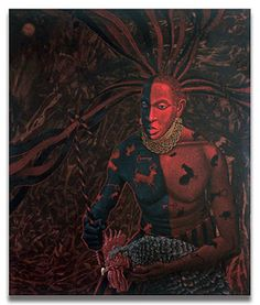 At the crossroads, you must pay Eshu recognition. Those who ignore Eshu suffer. He is the messenger between the physical and spiritual world.