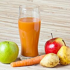 10 Simple Juices to Jump Start Your Immune System: Carrot Apple Pear Juice  Carrots are a great source of beta-carotene, a substance in plants that is converted into vitamin A in the body. Vitamin A plays an essential role in regulating the immune system and helps the body fight off infections, and helps keep enough T-cells, also known as fighter cells, in circulation. It also boosts the activity of white blood cells, which defend the body from foreign substances  See the Recipe